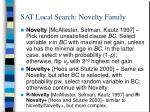 sat local search novelty family