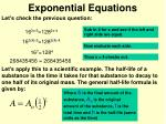 exponential equations2