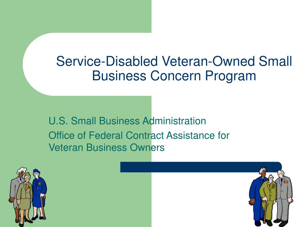 service disabled veteran owned small business concern program l.