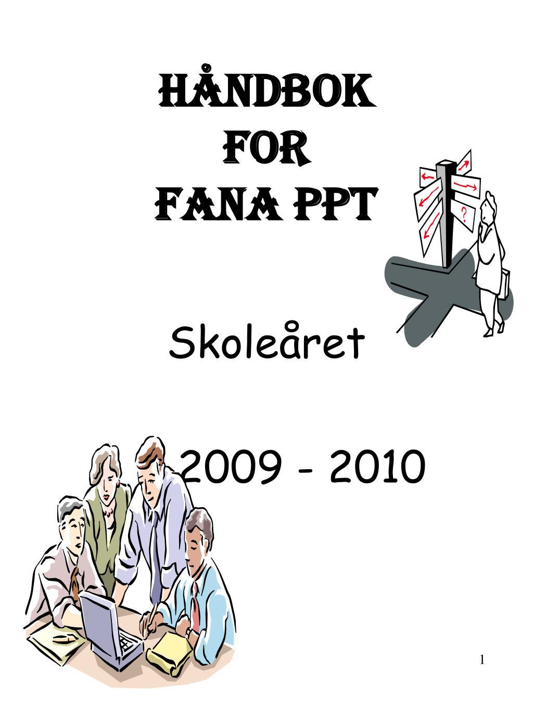 h ndbok for fana ppt l.