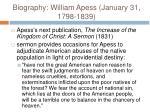 biography william apess january 31 1798 183911