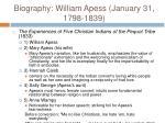 biography william apess january 31 1798 183913