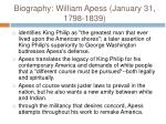biography william apess january 31 1798 183917