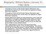 biography william apess january 31 1798 18399