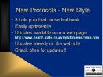 new protocols new style