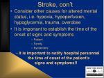 stroke con t