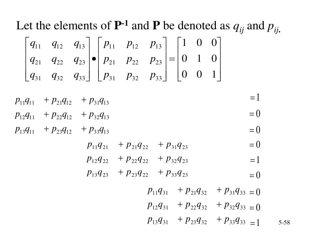 Let the elements of