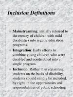 inclusion definitions