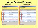 nurse review process15