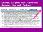mitchell margaret 1996 gone with the wind new york scribner6
