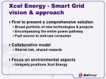 xcel energy smart grid vision approach
