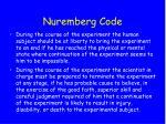 nuremberg code23