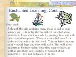 enchanted learning cont