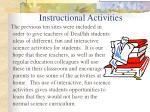 instructional activities54