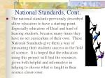 national standards cont14