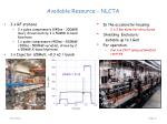 available resource nlcta