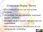 component display theory64