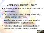component display theory65