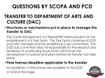 questions by scopa and pcd12