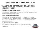 questions by scopa and pcd14