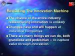 restarting the innovation machine27