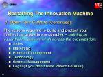 restarting the innovation machine34