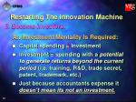 restarting the innovation machine36