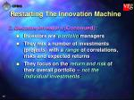 restarting the innovation machine37