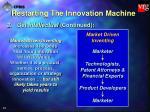 restarting the innovation machine44
