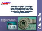 alumide material used as directool for rubber injection moulding
