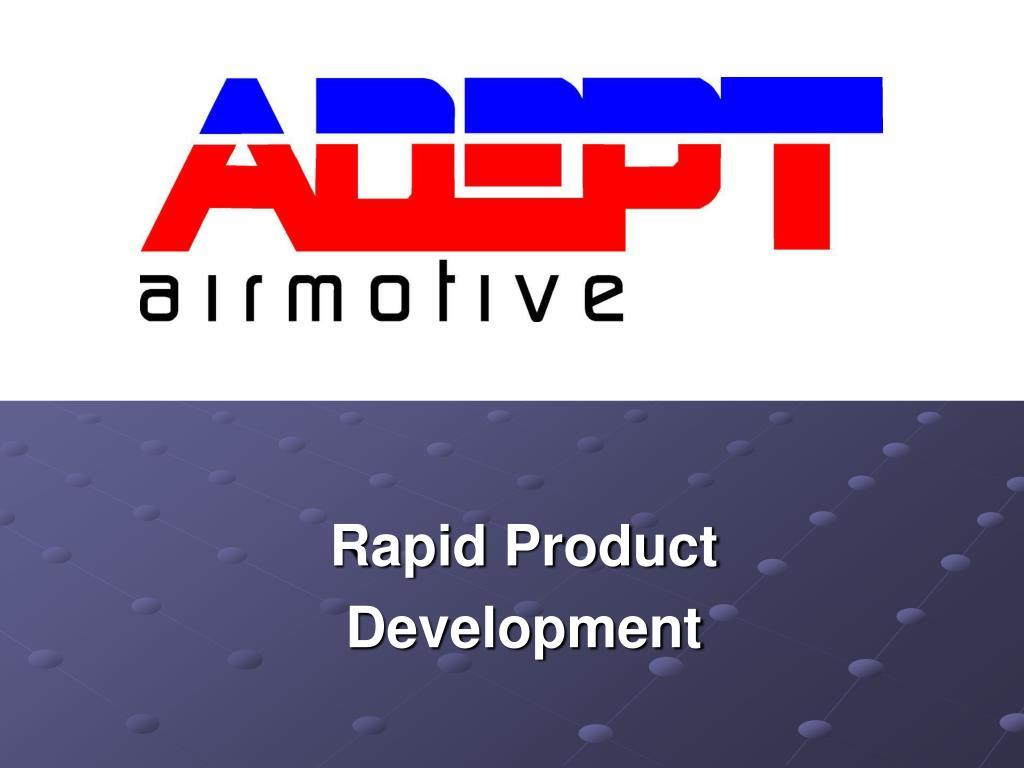 rapid product development l.