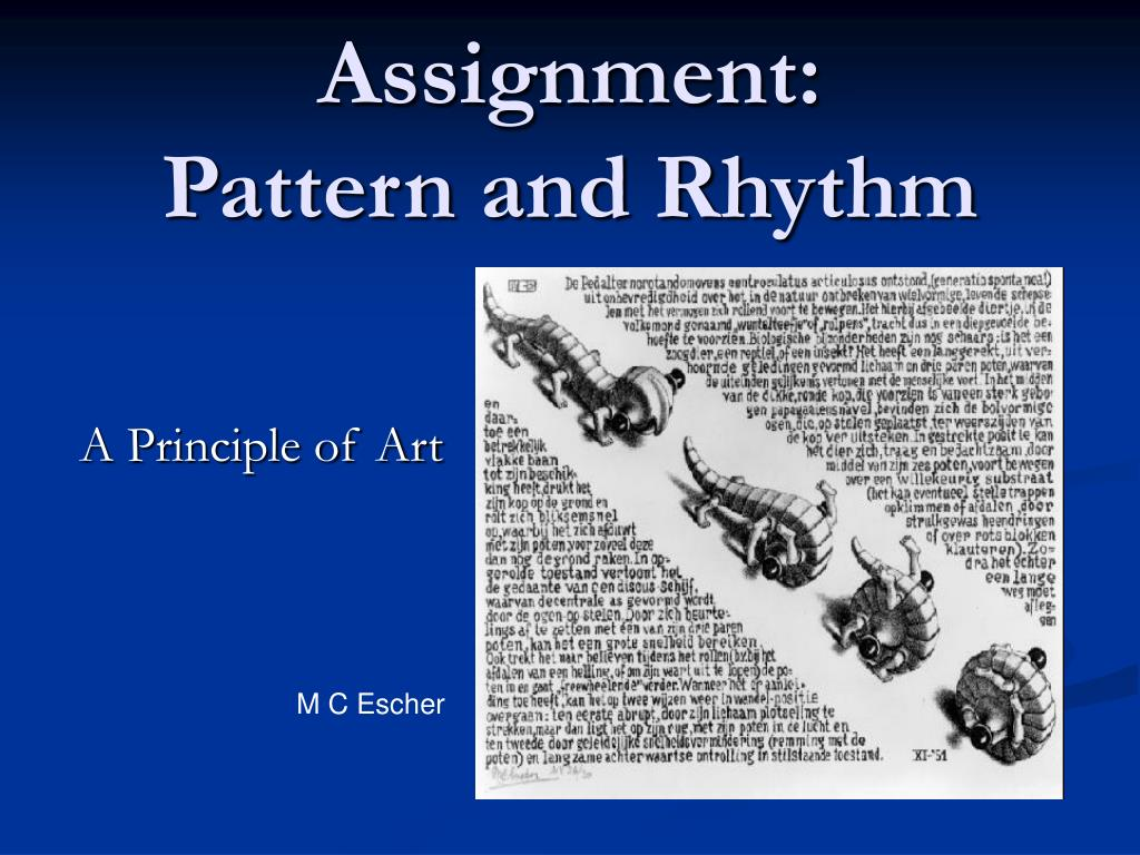 assignment pattern and rhythm l.