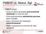 pmbok vs metod gil