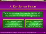 3 key success factors