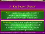 3 key success factors27