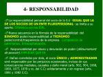 4 responsabilidad