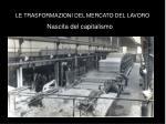 le trasformazioni del mercato del lavoro12