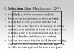 4 selection bias mechanism 2 7