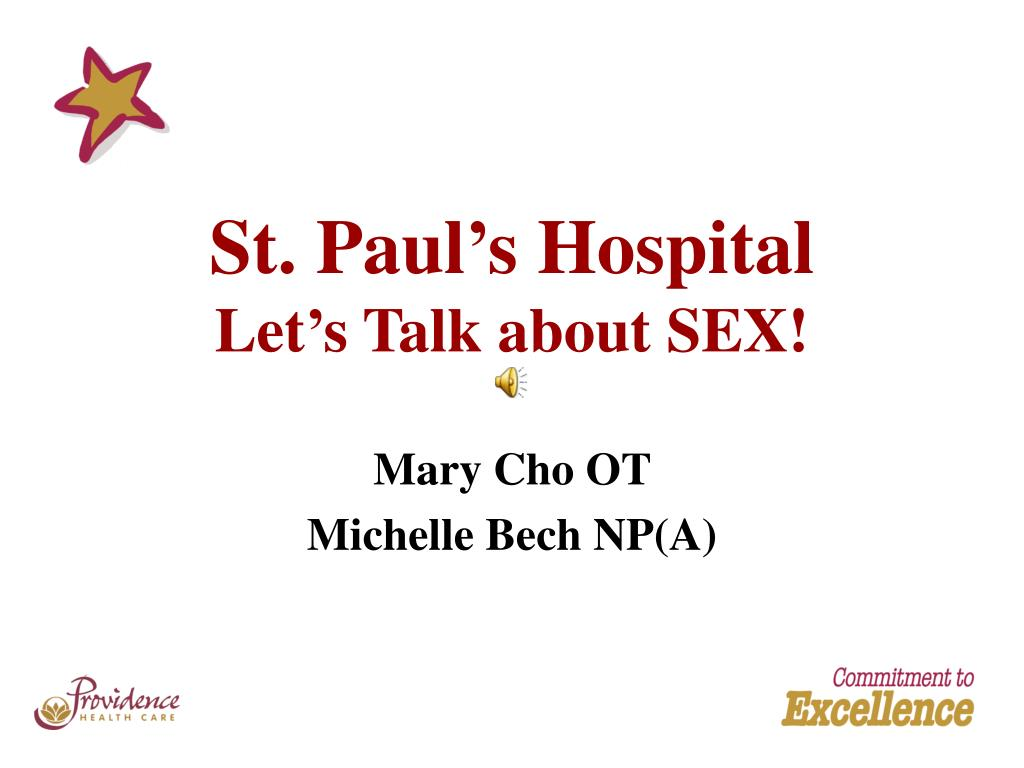st paul s hospital let s talk about sex l.
