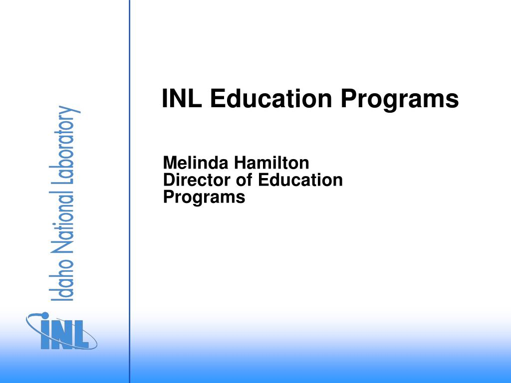 inl education programs l.