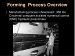 forming process overview