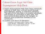 cabrini green legal aid clinic expungement help desk