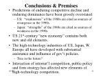conclusions premises