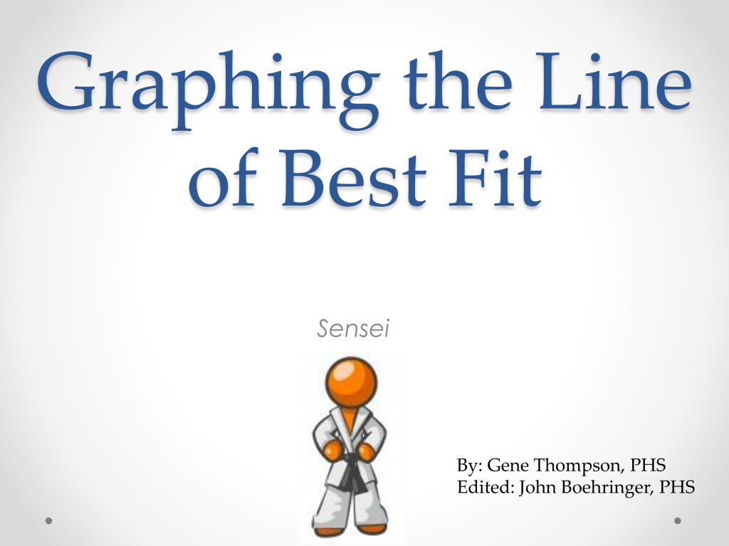 graphing the line of best fit l.