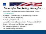 successful marketing strategies