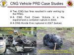 cng vehicle prd case studies