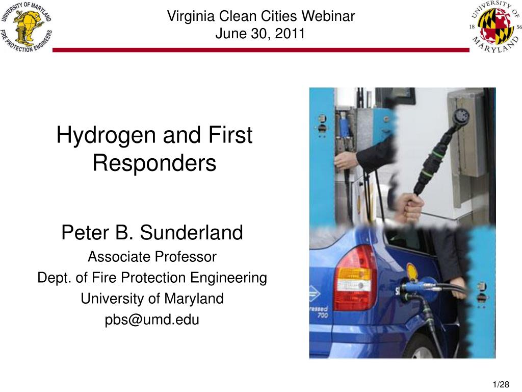 hydrogen and first responders l.
