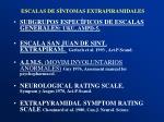 escalas de s ntomas extrapiramidales