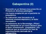 gabapentina 0