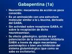gabapentina 1a